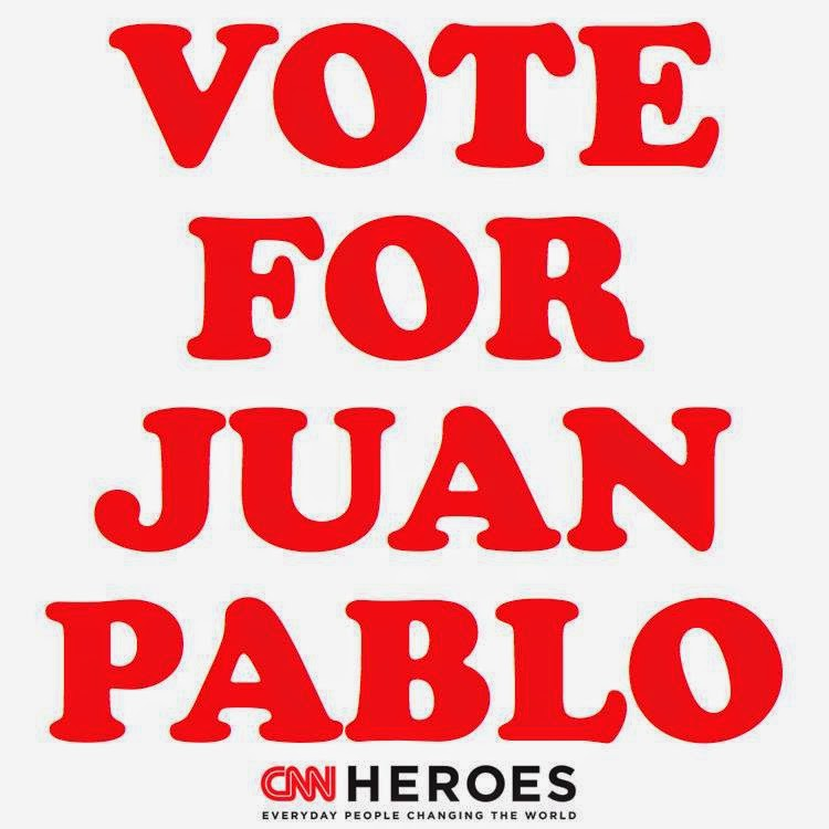JUAN PABLO FUENTES, please vote for him!