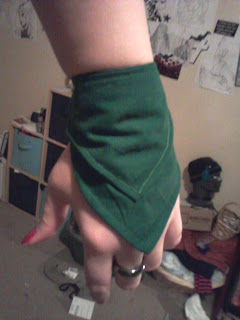 Green Wallet Glove