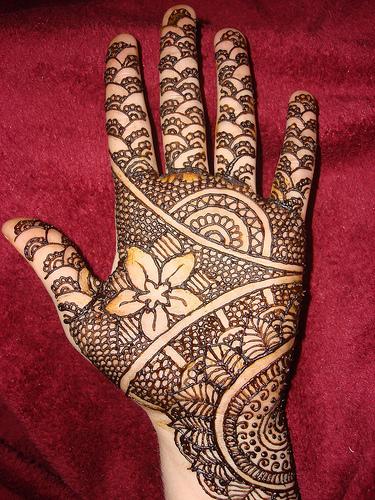 New Full Hand Mehndi Designs : Mehndi design new bridal full hand