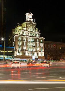 Taller fotografico nocturno en Madrid