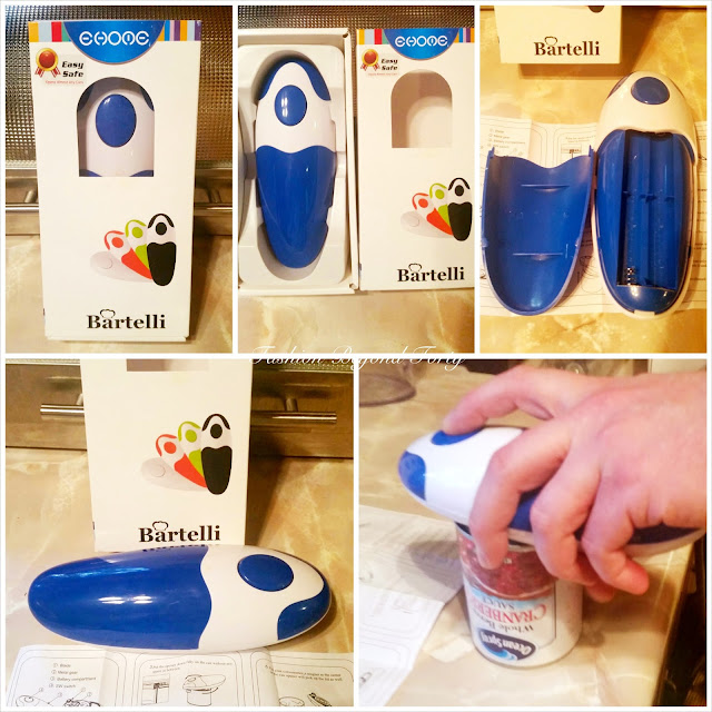 The Bartelli Can Opener - Easy Use for Achy Hands!