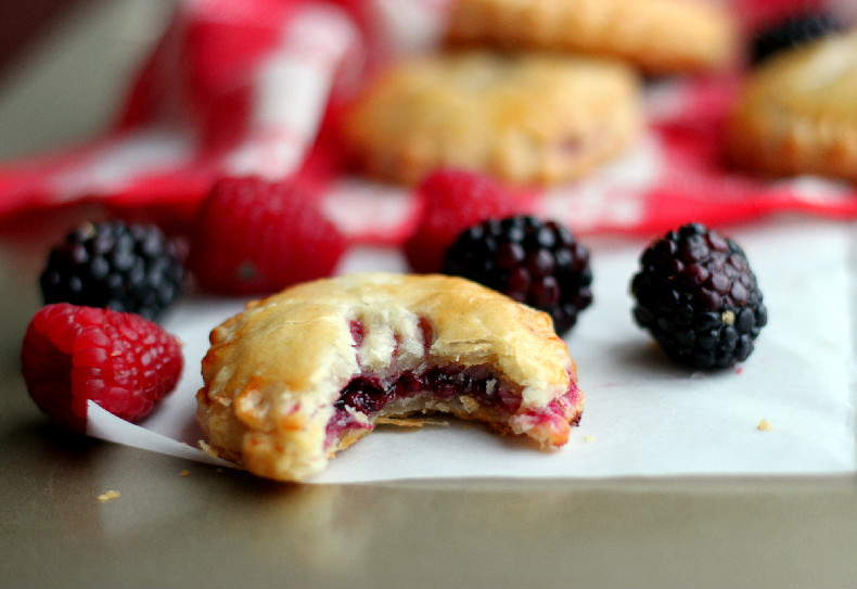 Culinary Couture: Mixed Berry Hand Pies