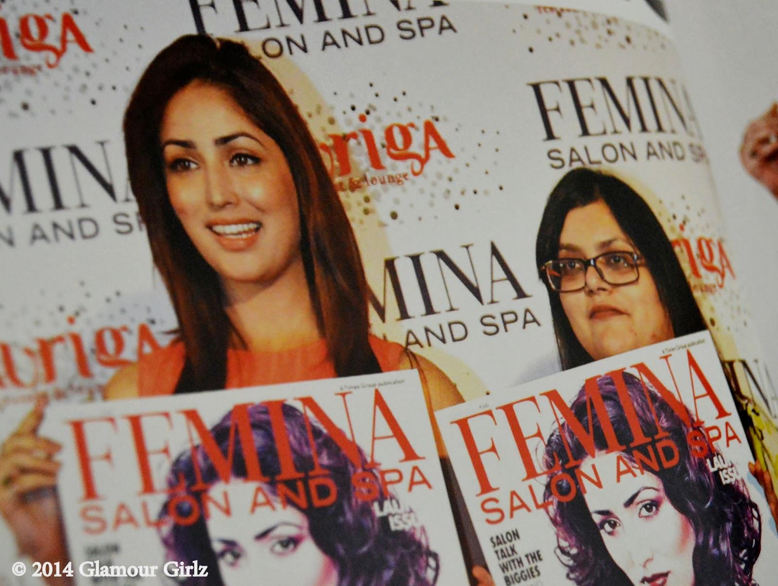 Yami Gautam launches Femina Salon & Spa in December 2013