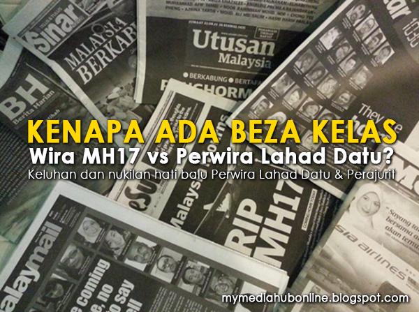 Kenapa Ada Beza Kelas Wira MH17 Vs Perwira Lahad Datu