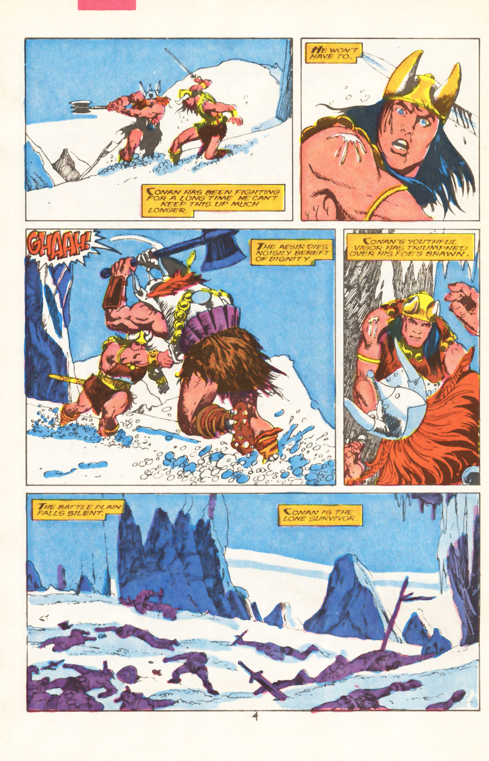 Conan the Barbarian (1970) Issue #211 #223 - English 5