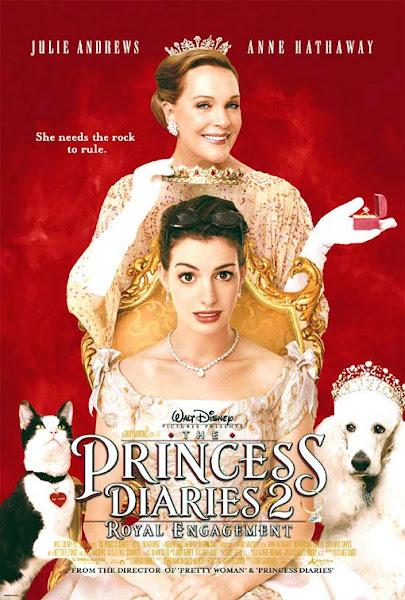 Watch The Princess Diaries 2: Royal Engagement (2004) Hollywood Movie Online | The Princess Diaries 2: Royal Engagement (2004) Hollywood Movie Poster