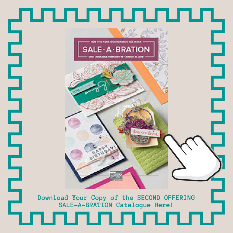 Download Your Copy of the Second Offerings Sale-a-bration Catalogue