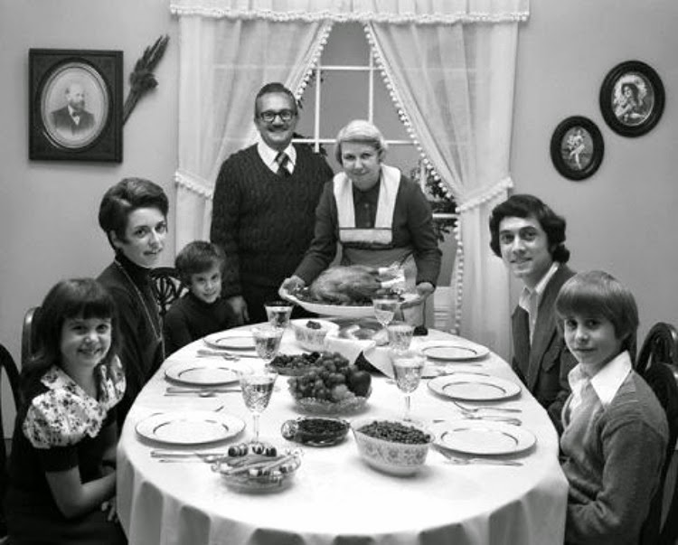 1960s Thanksgiving