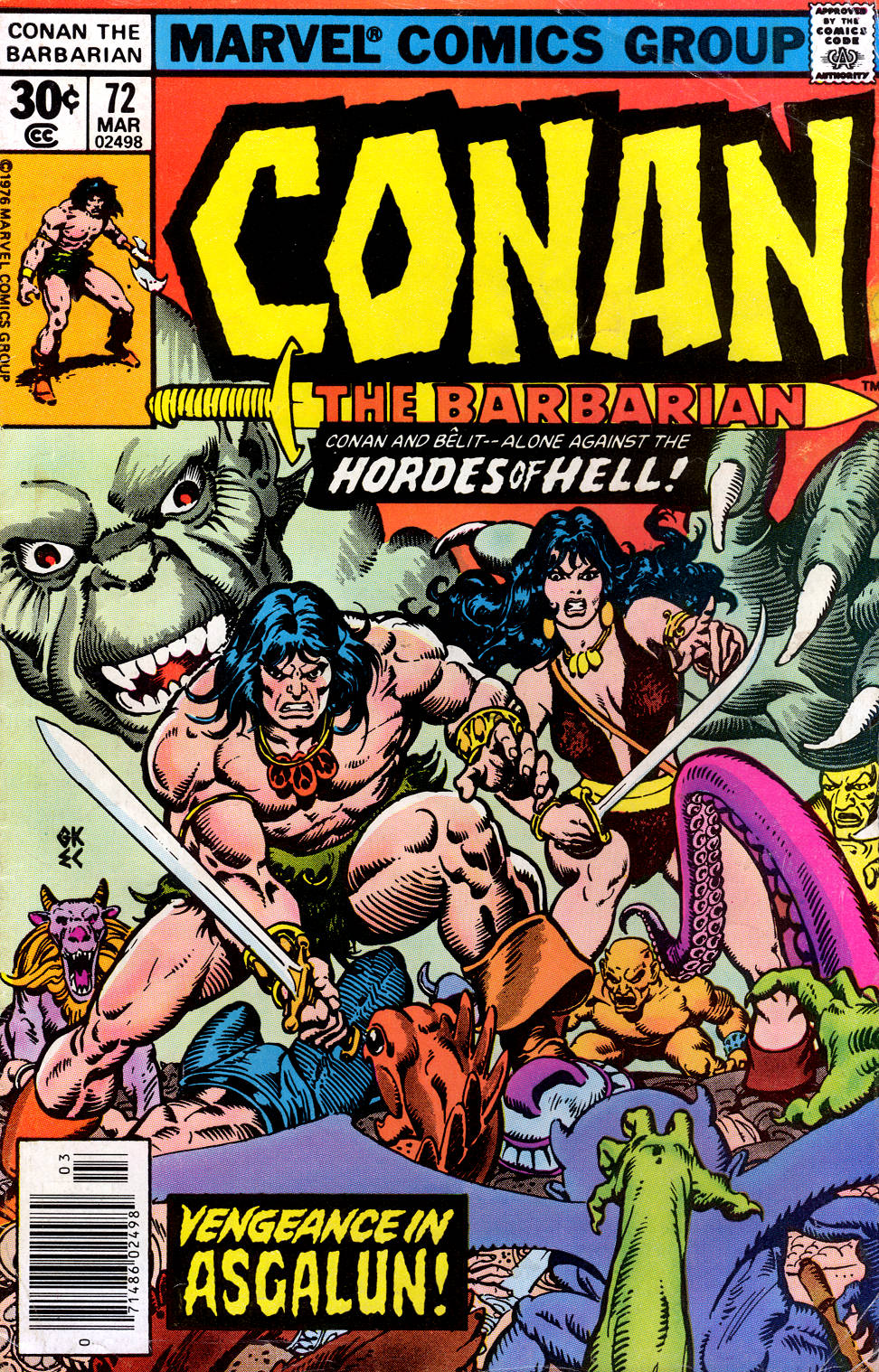 Conan the Barbarian (1970) 72 Page 1