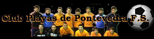 Jugadores del Club Playas de Pontevedra F.S.