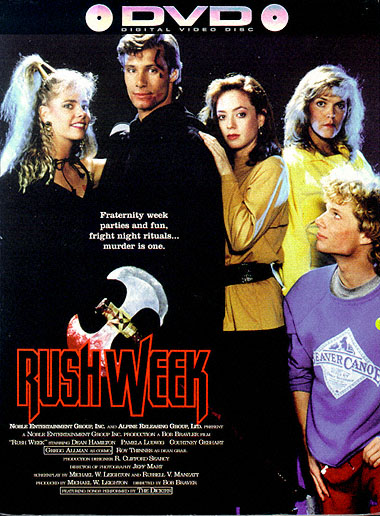 Rush Week 1989 DVD