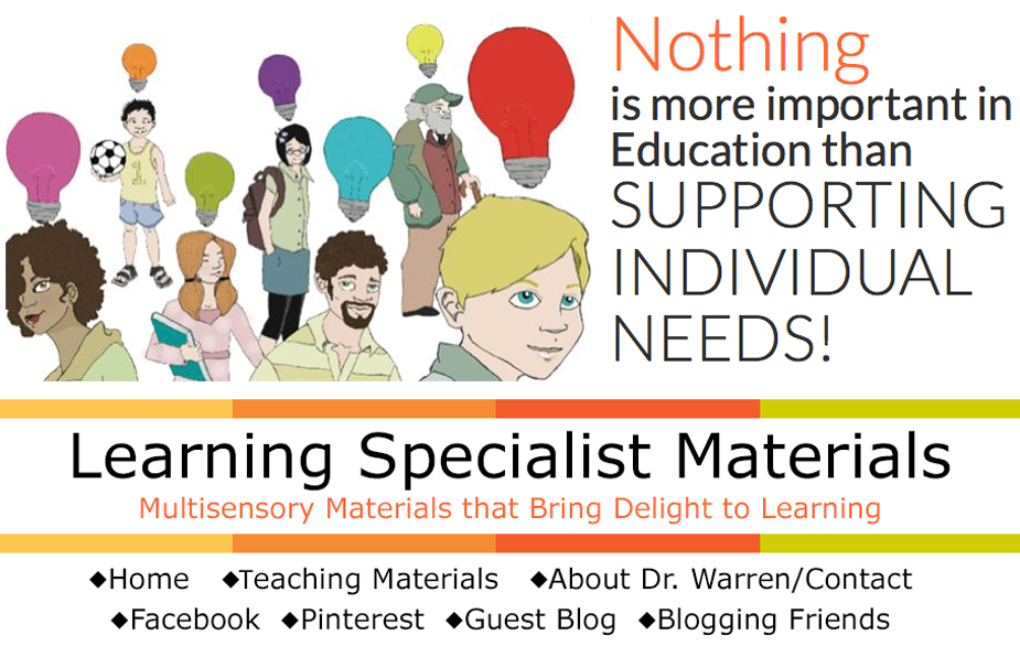 Learning Specialist and Teacher Materials - Good Sensory Learning