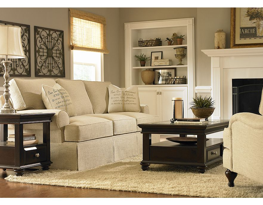 Havertys contemporary living room design ideas 2012 for Contemporary furniture ideas living room
