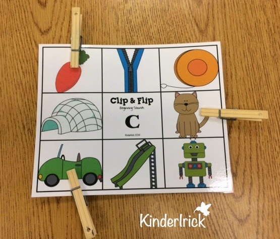 phonemic awareness beginning sounds activity
