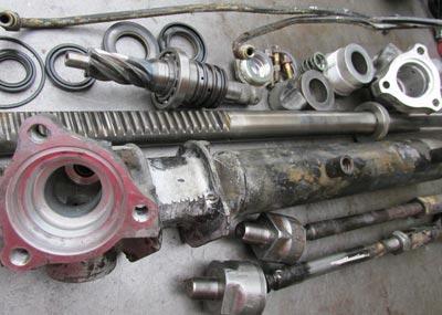Reparar cremallera direccion hidraulica