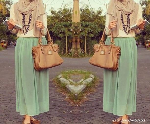Ochin Lailatullatifah Fashion Hijab Untuk Kuliah