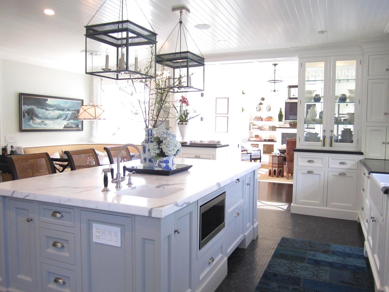 New Classic Elegant Beach Kitchen Classic Casual Home