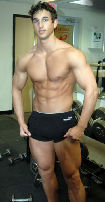 Hot Guy Compression Shorts