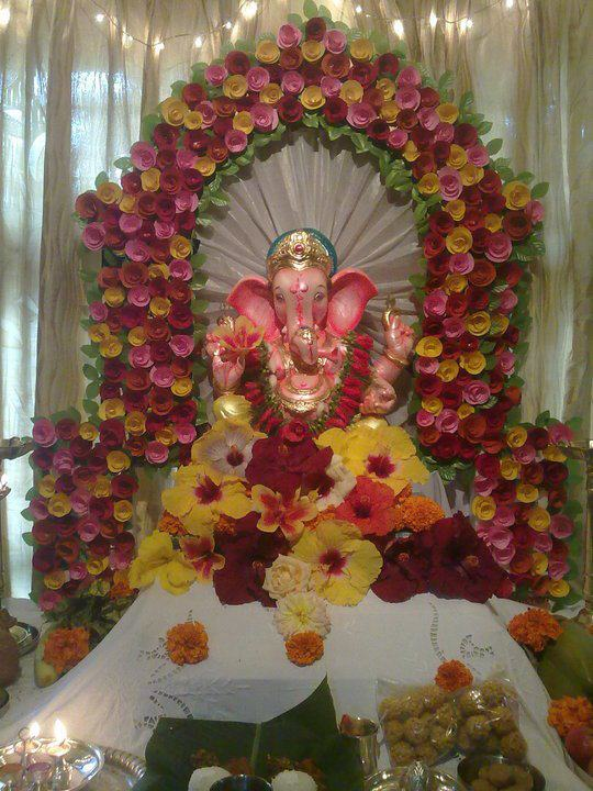 Ganpati Thermocol Latest Hd Makhar Photo Joy Studio Design Gallery Best Design