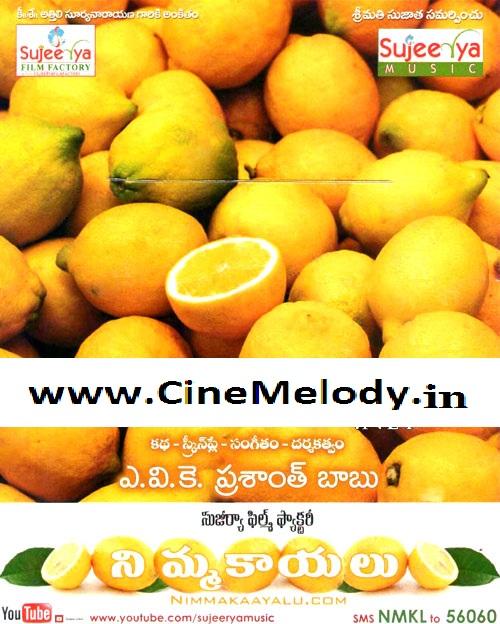 Nimmakaayalu Telugu Mp3 Songs Free  Download -2013
