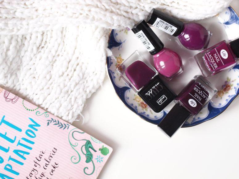 ulubione lakiery na jesień i zimę