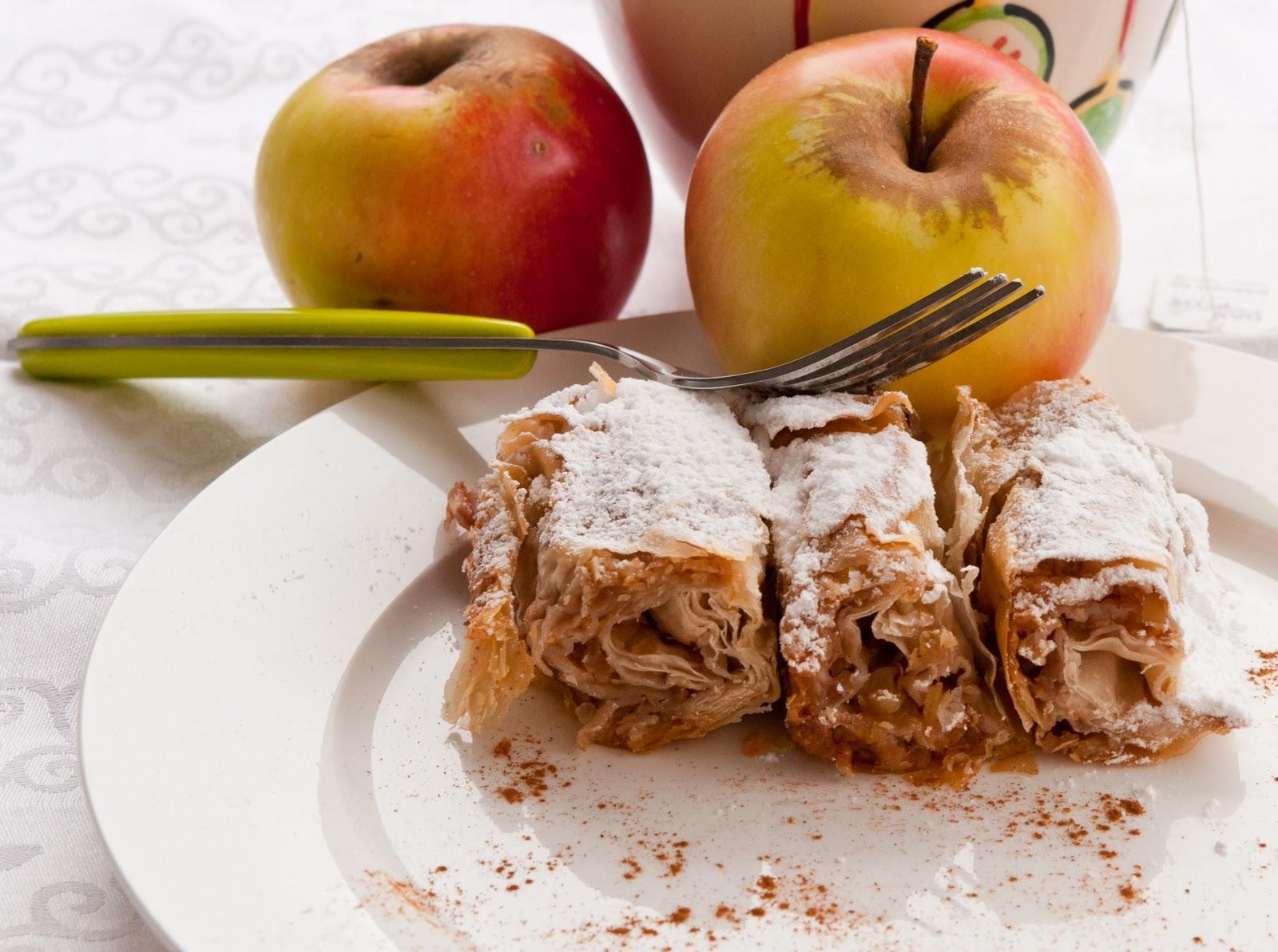 Щрудел - Баница с ябълки