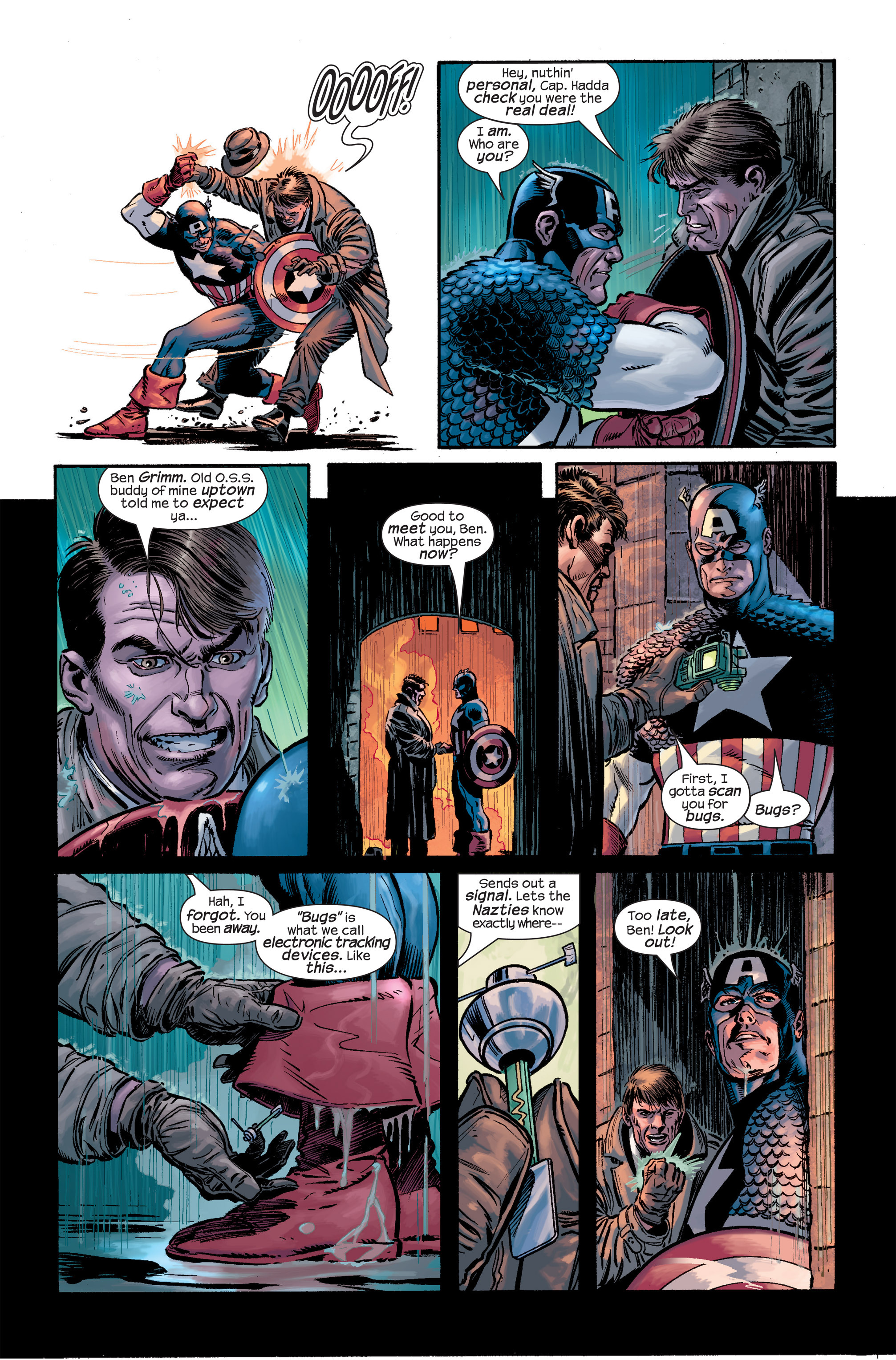 Captain America (2002) Issue #18 #19 - English 14