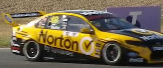 NORTON SECURITY RACING CAR