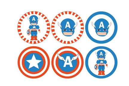 ... personalized invitation birthday captain america personalized: scrapworld2010.blogspot.com/2013/05/craft-ideas-superhero-clipart...