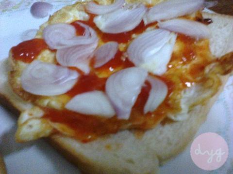 Dinner Ringkas - Roti Telur