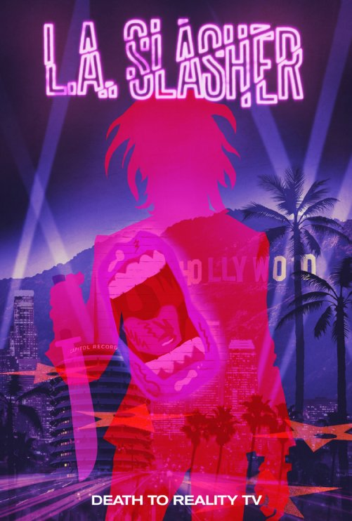 L.A Slasher poster