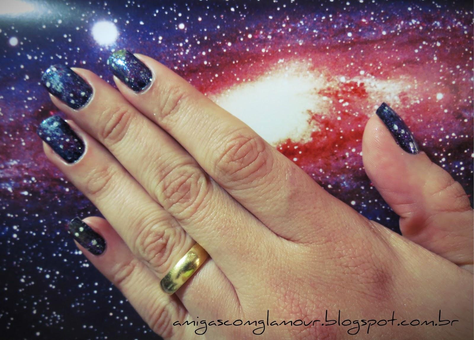 unhas galáxia