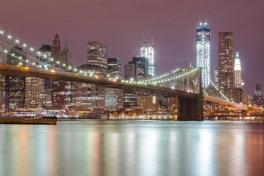 11. Brooklyn Bridge at Night by Oleg Chursin