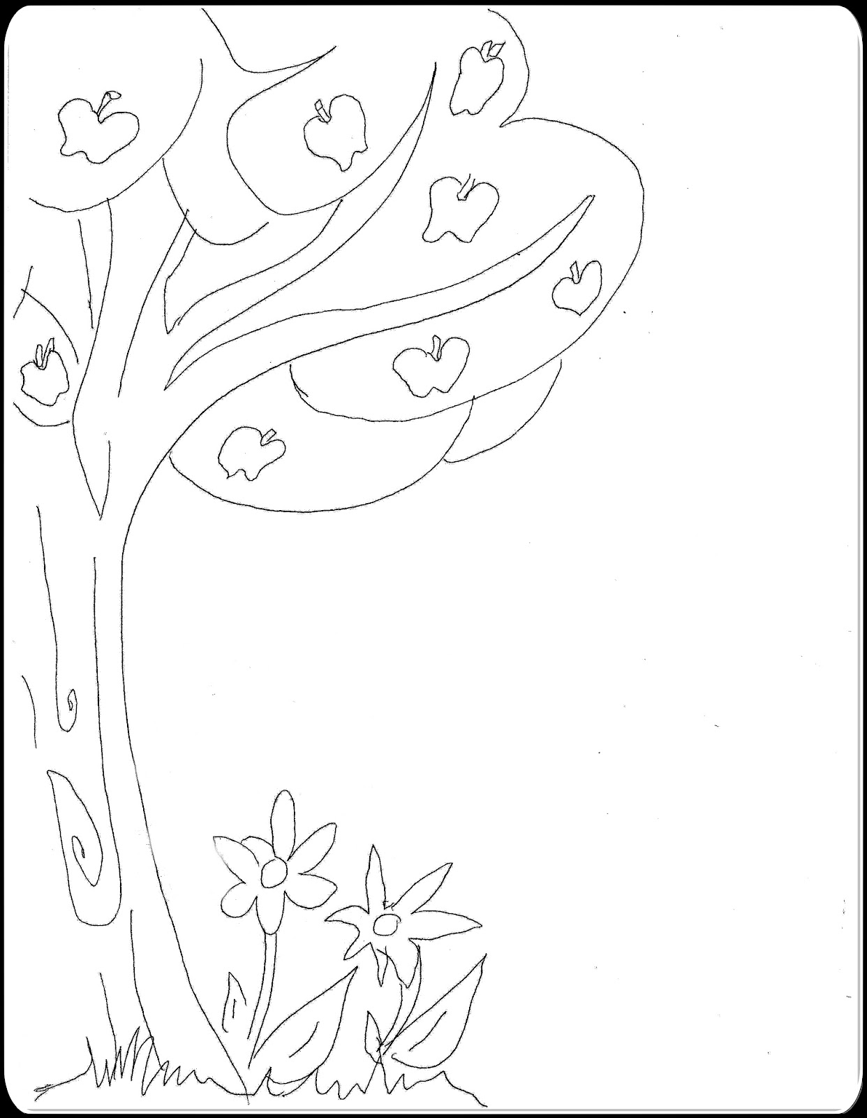 fall christian coloring pages - photo#17