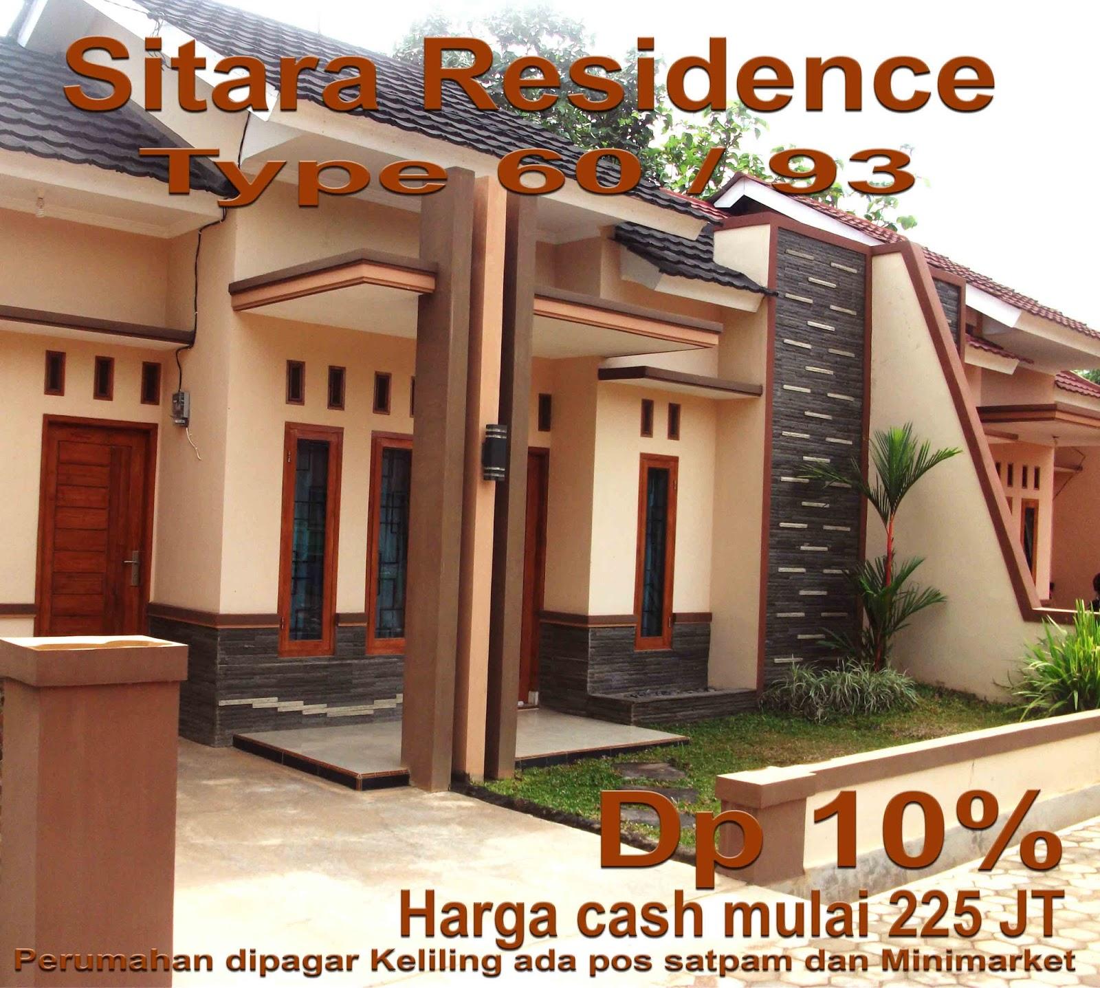 Rumah Dijual Sitara Residence
