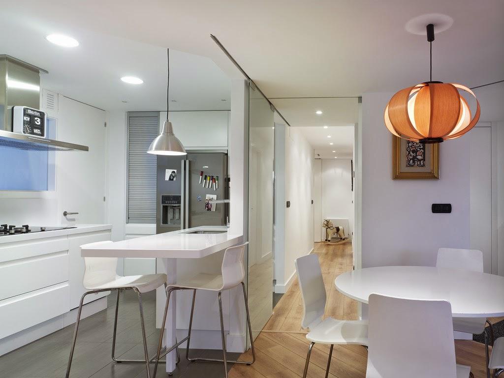 Ideas para zonas de cocina abiertas al sal n decoraci n for Cocina unida a salon