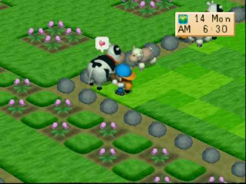 Game Harvest Moon Ps1 Game Harvest Moon Back to