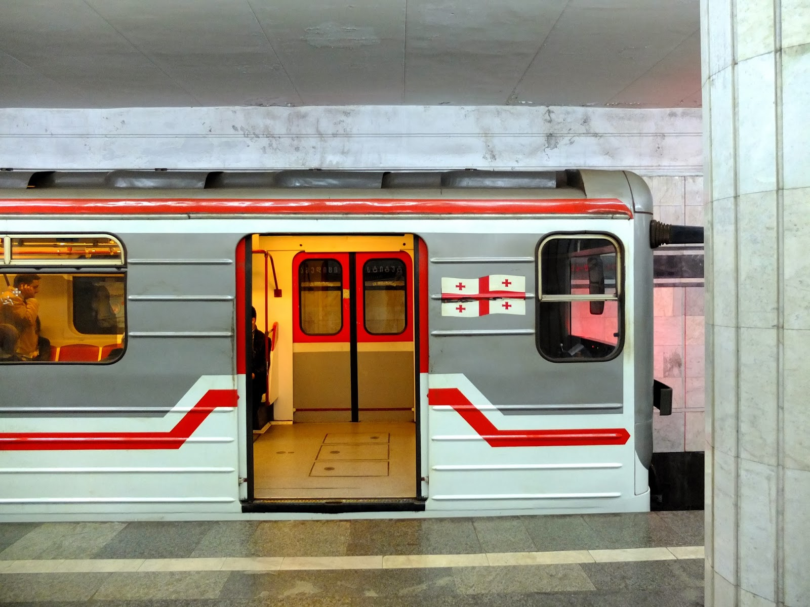 متوقف-شدن-متروی-ایستگاه-didube-تفلیس