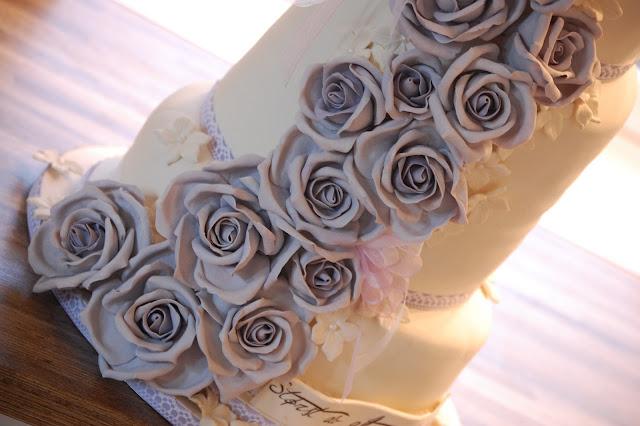 Romantisk Bryllupskake