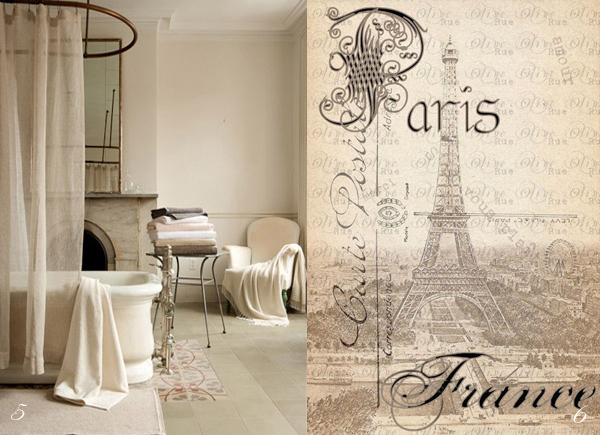 Creative Ideas - Paris Bathroom Decor | Beautiful Houses