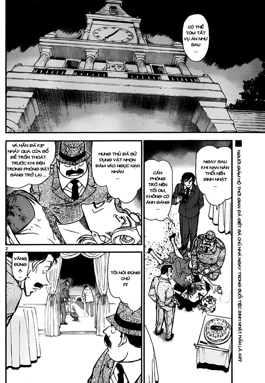 Detective Conan - Thám Tử Lừng Danh Conan chap 763 page 3 - IZTruyenTranh.com