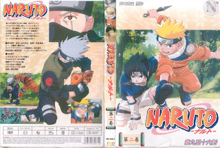 naruto dvd covers