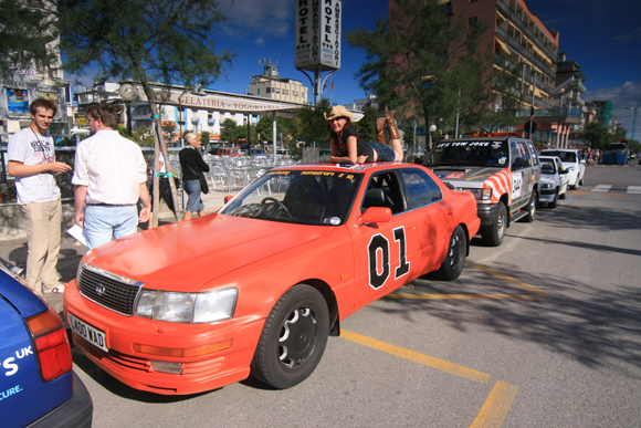General Lee Rally Art Car