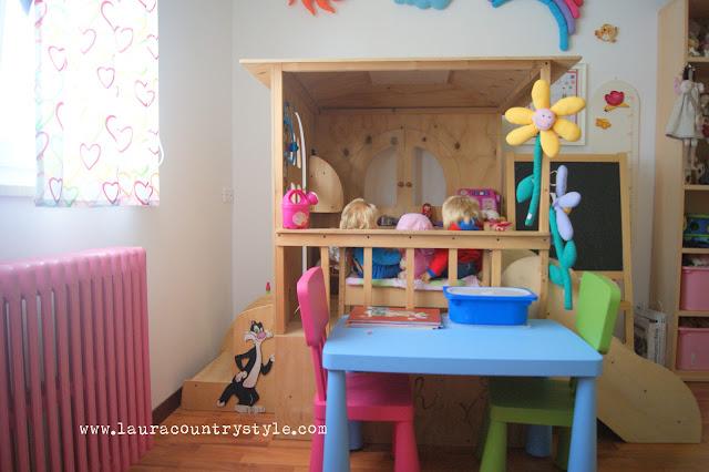Laura country style maggio 2012 - Letto ikea bimbi ...
