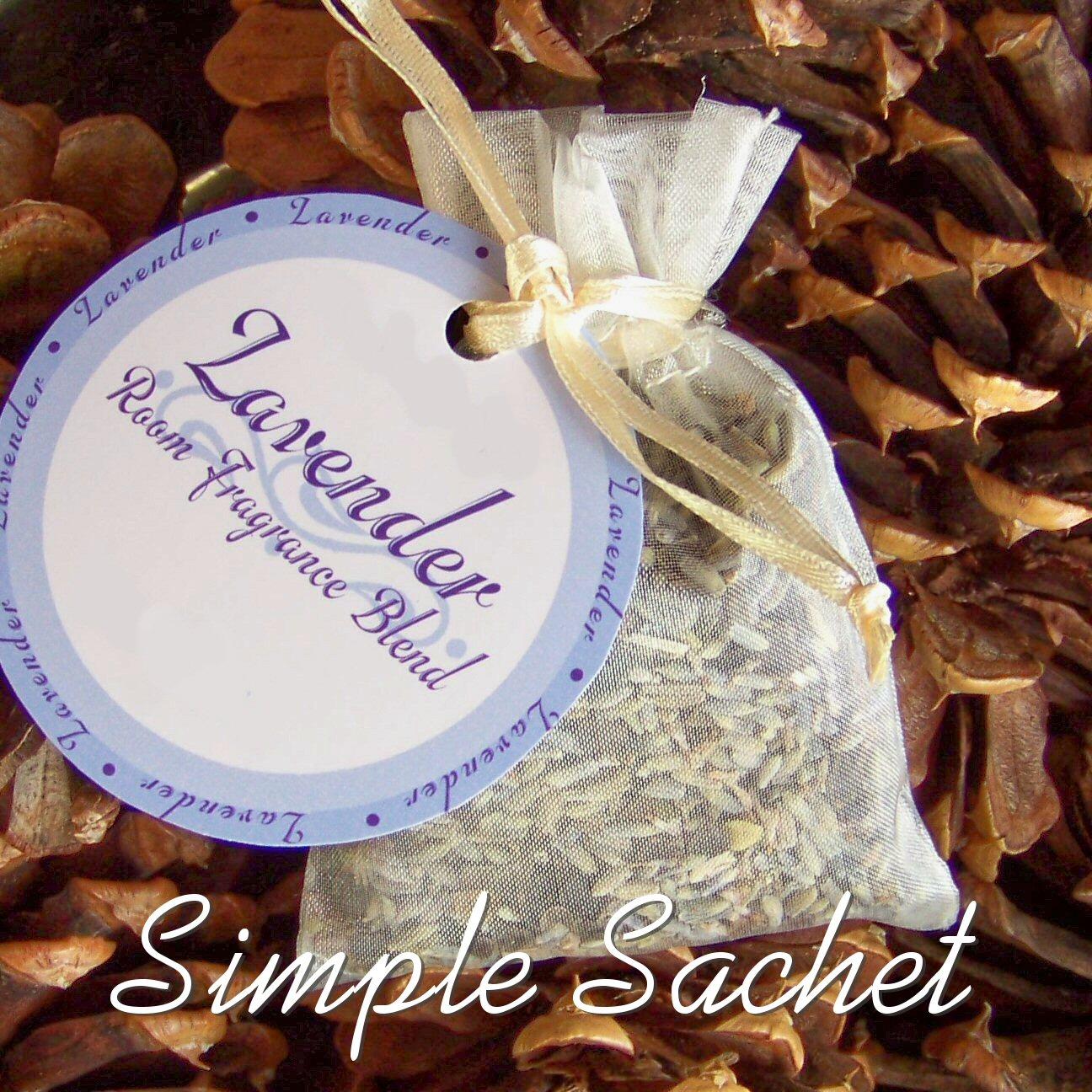 How to Make a Simple Sachet | Sharrie Lynn Design