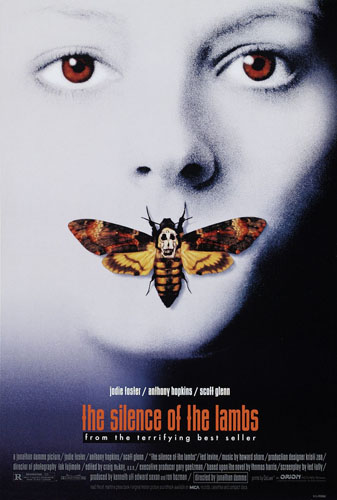Jameson Cult Film Club silence of the lambs Poster