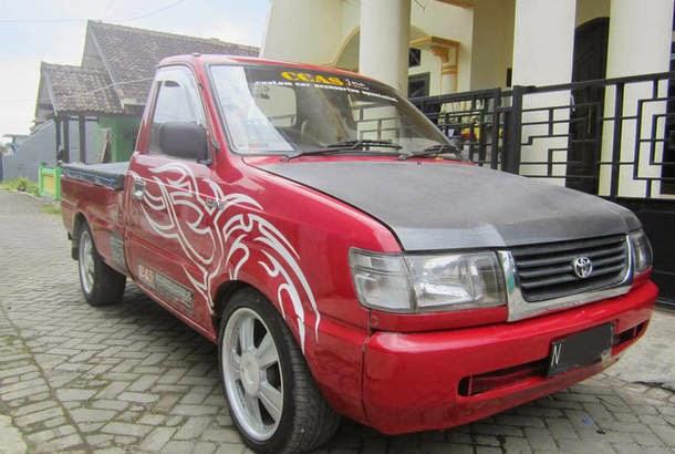 Modifikasi Mobil Toyota Kijang Pick UP 1997