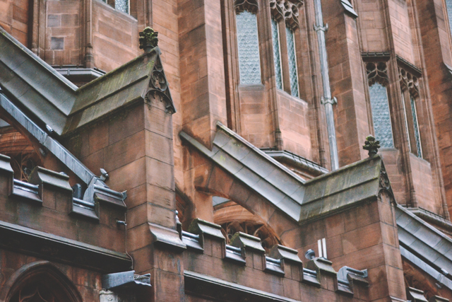 John Rylands exterior architecture
