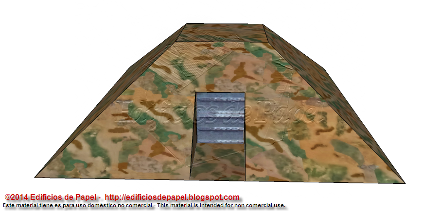 Bunker paper model