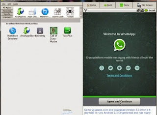 Cara Termudah Install WhatsApp di PC atau Leptop dengan Youwave atau Bluestacks